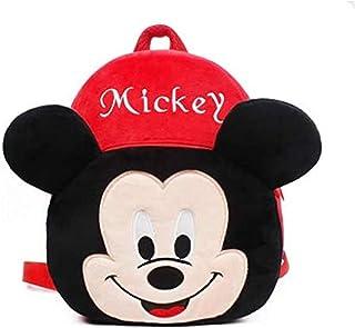 SKEIDO Plush Backpack Cartoon Mouse Kindergarten Children Schoolbag Kids Backpack Plush Toys Gift