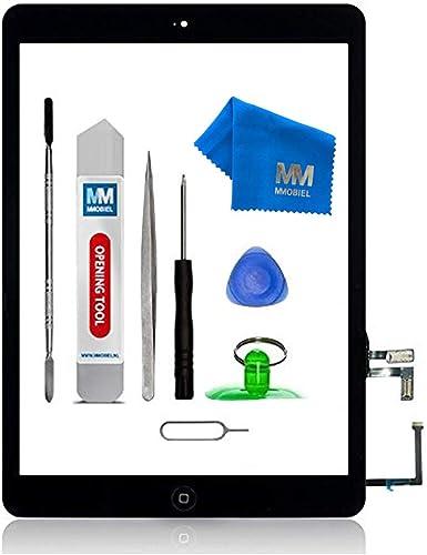 MMOBIEL Écran Tactile Compatible iPad Air (Noir) 9.7 Pouces 2013 avec Digitizer préassemblés et Kit d'outils Inclus