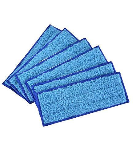 10er-Pack Microfaser waschbares feuchtes Wischpad, wiederverwendbare feuchte Tuch-Wischpads Ersatz für iRobot Braava Jet 240/241