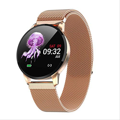 Fitness Smart Watch Dames Running Hartslagmeter Bluetooth Stappenteller Touch Intelligent Sport Smartwatch Dames Heren