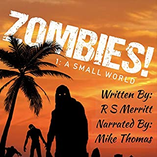 Zombies! audiobook cover art