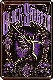 WallAdorn Black Sabbath Eisenposter, Blechschild,
