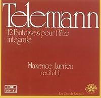 Telemann: 12 Fantaisies pour flute sans basse