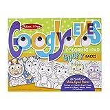 Melissa & Doug Wacky Faces - Googly Eyes Coloring Pad Toy