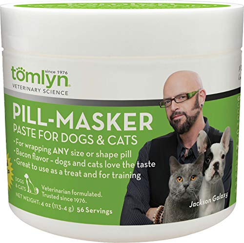 TOMLYN Pill-Masker Paste for Dogs & Cats, 4 Ounce, 12 Pack