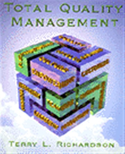 Compare Textbook Prices for Total Quality Management 1 Edition ISBN 9780827371927 by Richardson, Terry
