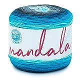 Lion Brand Yarn 525-212 Mandala Yarn, Spirit, 1 Pack