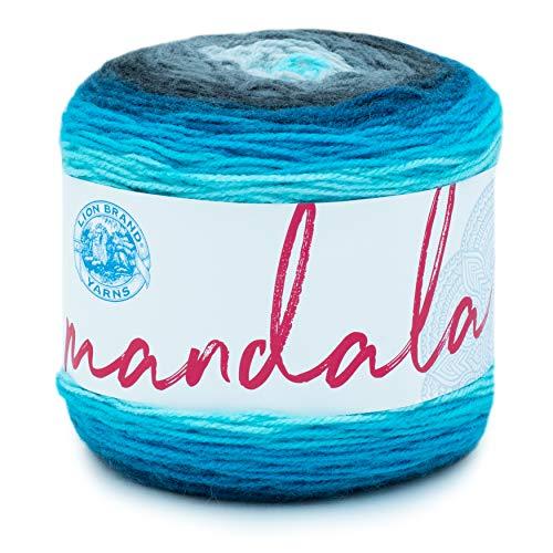 Lion Brand Yarn 525-212 Mandala Yarn, Spirit