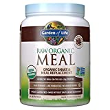 Garden of Life Meal Replacement Chocolate Powder, 14 Servings, Organic Raw Plant Based Protein Powder, Vegan, Gluten-Free - Packaging May Vary
