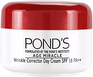 POND'S SPF 18 PA++ Age Miracle Wrinkle Corrector Day Cream, 10g
