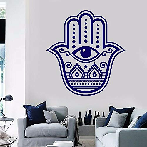 Pegatinas de pared de vinilo religioso pegatinas de pared de arte decoración del hogar sala de estar mano de dios decoración de la habitación del ojo religioso decoración de la pared creyentes