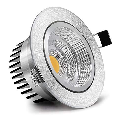 Einbauleuchte Dimmbare LED-Einbauleuchte Downlight 9w Dekoration Decken-Spotlampe Ac 110v 220v für die Küche