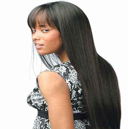 Longlove Long Naturel Doré Kindly bouclés perruque de cheveux synthétiques pour les filles