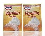 Azúcar de vainilla por el Dr. Oetker 20 sobres de 8 g - por Helen's Own International - 160 g de azúcar de vainilla en total - calidad superior