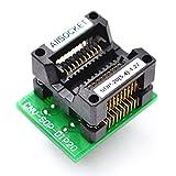 allsocket SOP20–5,4–1, 27SOP20Paket SOIC20SO20SOP20zu DIP20Programmierung Adapter Testen, Debug, Validierung, Programmierung Sockel 27mm Pitch 5,4mm Breite (209mil) SOP20–1, 27ots20–1, 27–01