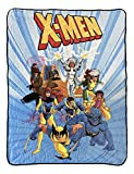 Marvel X-Men The Animated Series Group Officially Licensed Ultra-Soft Fleece Throw Blanket