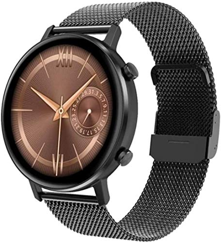 Smartwatch Reloj inteligente para hombre y mujer DT96 360 * 360 Multi-Sport Fitness Tracker Monitor de ritmo cardíaco Presión arterial Oxígeno-A