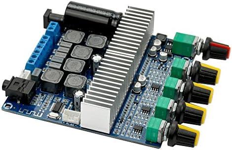 AIYIMA DC12V-24V 2.1 Channel TPA3116 Subwoofer Amplifier Board High Power Bluetooth Audio Amplifier Board 50W+50W+100W (Bluetooth Amp)
