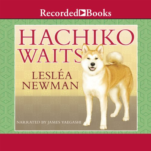 Hachiko Waits audiobook cover art