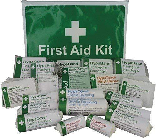 HSE Gesundheit & Sicherheit kompakte Mappe gesetzlichen Erste Hilfe Kit 1-10 Persons