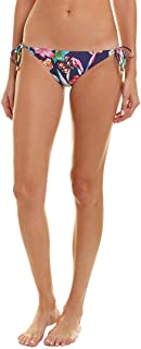La Blanca Women's Bora Bora Print Tie Side Hipster Bottom