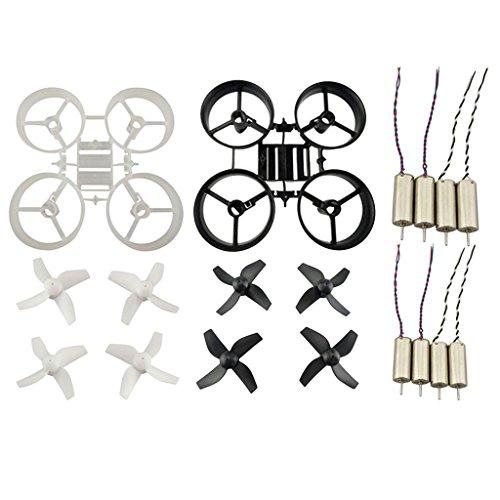 2 Set Hélice + Marco de Protección + Motor para JJRC H36 RC Drone