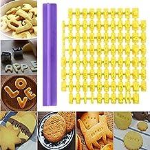 Plastic Cute Alphabet Number Letter Cake DIY Mold for Press Stamp Biscuit Cookie Press Stamp Embosser Cutter Fondant Mould