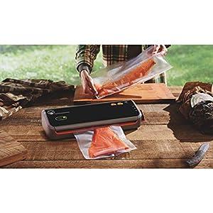 FoodSaver Vacuum Sealer GM2050-000 GameSaver Outdoorsman Sealing System, Black