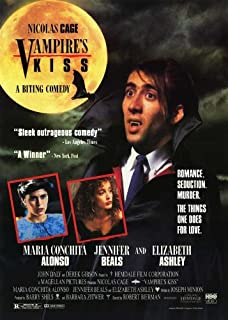 Vampire's Kiss Poster Movie 27x40