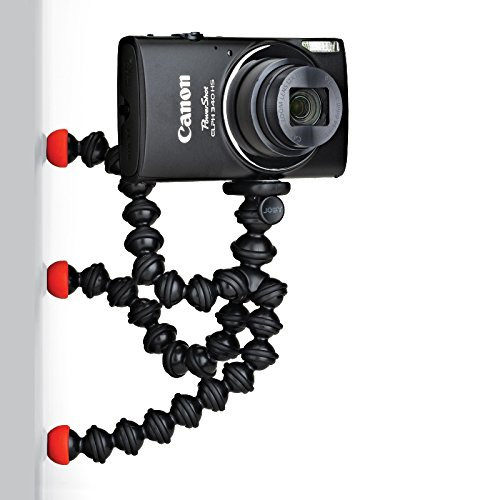 JOBY GorillaPod Magnetic - A Flexible, Lightweight Tripod with Strong Magnetic feet for Point-and-Shoot Cameras Weighing up to 325 g