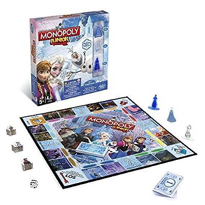 Hasbro Monopoly - Juego de Mesa Junior, con Diseño Frozen B22471050 por Hasbro