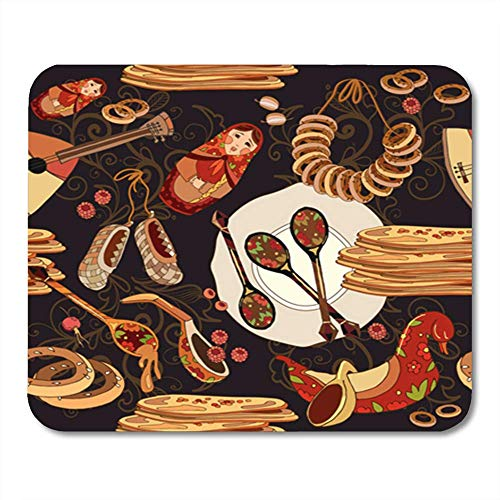 Yilan Gaming Mouse Pad Culinary Russian Cuisine Food...