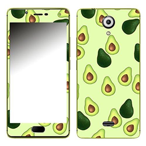 Disagu SF-107045_1122 Design Folie für Wiko Ufeel - Motiv Avocados Muster grün