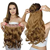 RemeeHi 100% Remy Hair One Piece 5 Clips in Human Hair Extension Beauty Hair...