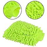 Aodener, guanto da lavaggio auto in ciniglia per lavaggio auto, panno per la pulizia della cucina, doppio lato, in microfibra