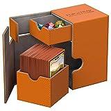 Ultimate Guard UGD10780 - Caja de cartón de xenoskin (80 Unidades), Color Naranja