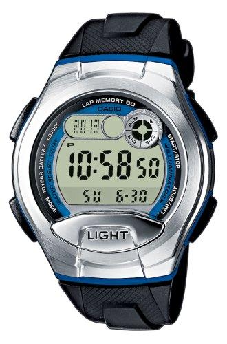 Casio Reloj Digital para Mujer de Cuarzo con Correa en Resina W-752-2BVES