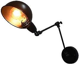 CUTANZI Iluminaci/ón de Pared de Metal Vintage 40W Luz Industrial para Decoraci/ón del Hogar Dormitorio,Pasillo,Ba/ño,Balc/ón,EscalerasDi/ámetr
