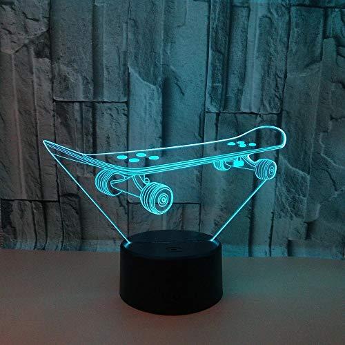 Shawujing Roller 3D Nachtlicht Bunte Note Fernbedienung Led Tischlampe Usb Netzteil Bunte Kleine Tischlampe Weihnachtsgeschenk, Bunte Note, 200 * 130Mm