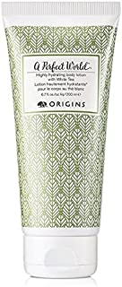Origins A Perfect World Highly Hydrating Body Lotion with White Tea, 6.7 fl oz