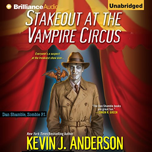 Stakeout at the Vampire Circus audiobook cover art