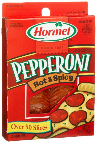 Hormel Hot & Spicy Pepperoni, 3.5 oz