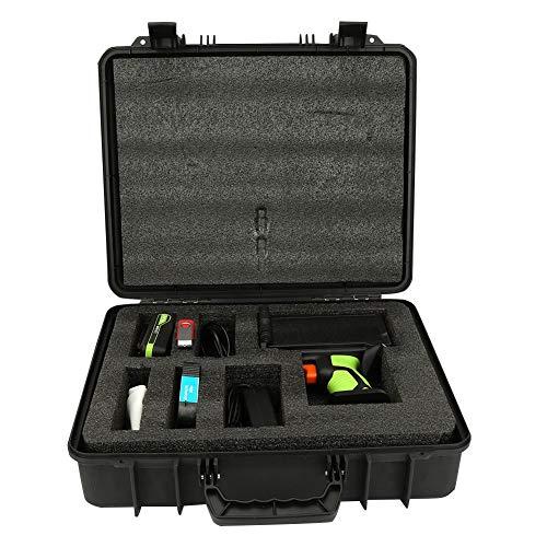 LD300 Hand-Tintenstrahldrucker Hochauflösender Smart Date Coder Tintencodierungsdrucker US-Stecker 110-220 V 14 Sprachen mit Akku USB-Flash-Disk