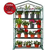 Worth Garden 102cm de Ancho Invernadero de 4 Niveles...