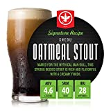 BrewDemon 2 Gal. Shedu Oatmeal Stout Beer Recipe Kit - Makes a Wicked-Good 4.6% ABV Batch of Craft...