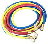 Robinair (30060) 1/4' Standard Hoses with Standard Fittings Set - 60', Set of 3