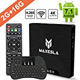 Smart TV BOX Android 7.1 - Maxesla MAX-S II Mini...