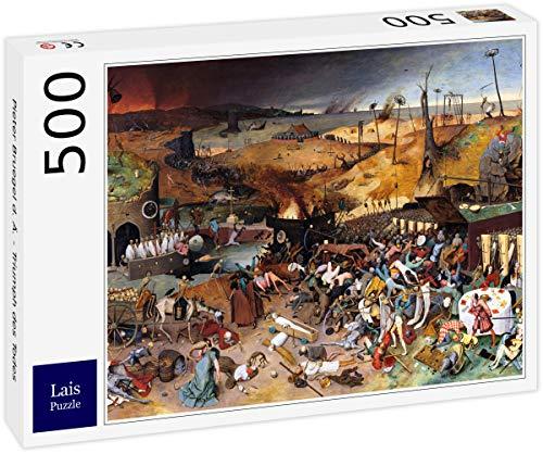 Puzzle Pieter Bruegel el Viejo   Triunfo de la Muerte 500 Piezas