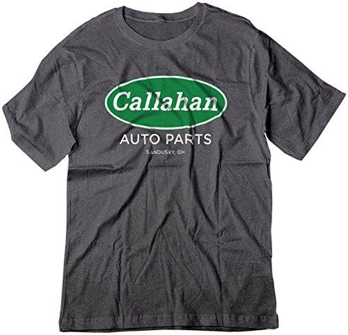 BSW Men's Parody Callahan Auto Parts Tommy Boy Shirt Dark Heather 3XL