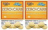 ThinSlim Foods Low Carb Hamburger Buns - Keto-Friendly 2 Pack (12 Buns)